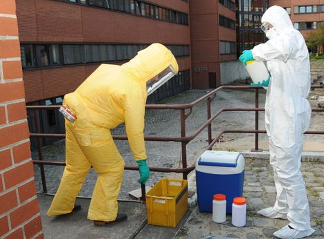 Preparing for a bioterrorist event or biological threat: Workshop at the RKI. Source: RKI