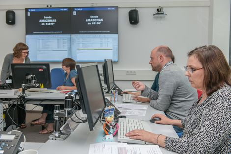 Epidemiological Situation Centre at the RKI. Source: Günter Bredow/RKI