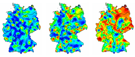 Influenza activity in Germany in Jan/Feb 2013 Source: RKI