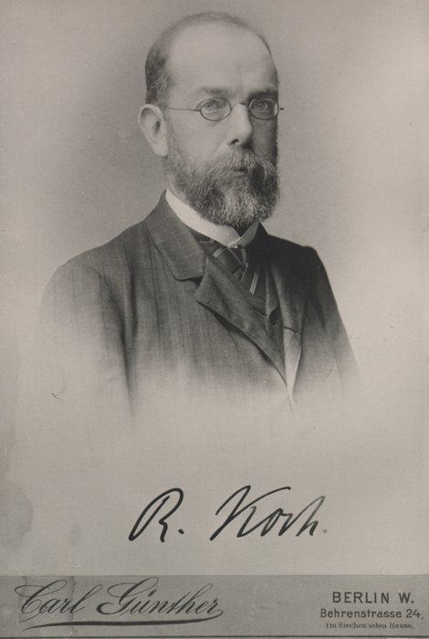 Robert Koch, 1884. Source: RKI