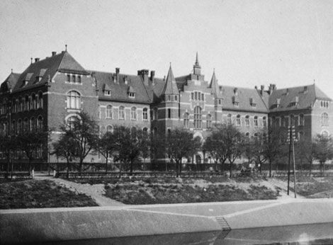 New building: The Royal Prussian Institute for Infectious Diseases on the Nordufer in Berlin-Wedding, 1900. Source: RKI