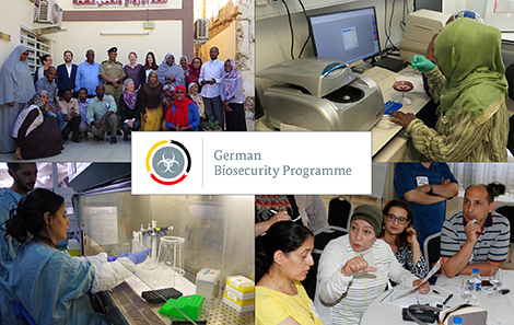 Workshops by RKI staff in the realm of the German Partnership Programme for Excellence in Biological and Health Security in Sudan. Source: RKI