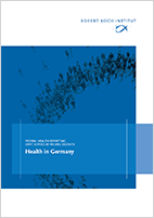 "Cover of the Report ""Health in Germany"". Quelle: © RKI"