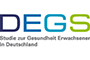 Logo of the German Health Study for Adults (DEGS). Source: © RKI