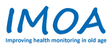 Logo des Forschungsprojekts Improving Health Monitoring in Old Age (IMOA)