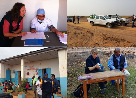 On request, RKI staff regularly supports GOARN in tackling outbreaks, mostly in African and Asian countries. Quelle: RKI